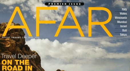 AFAR Magazine cover