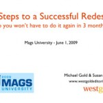 Smart Website Redesign: Get Your MagsU Slides Here