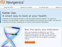 Navigenics website