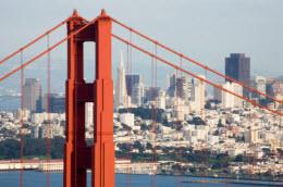 Golden Gate Bridge and San Francisco