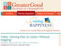 Greater Good website