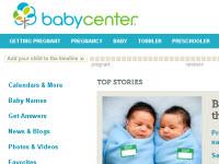 BabyCenter website