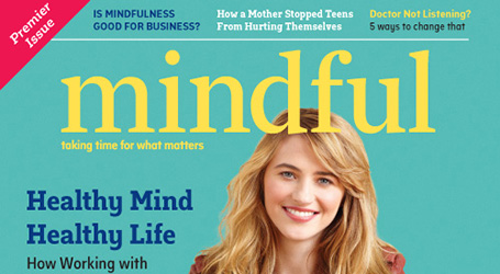 Mindful magazine cover